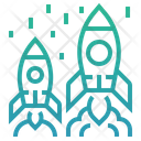 Comoetitive Competition Rocket Icon
