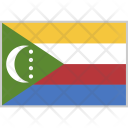 Comoros Flag Country Icon