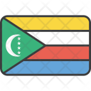 Comoros African Country Icon