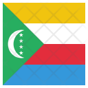 Comoros National Country Icon