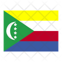 Comoros Flag Flags Icon