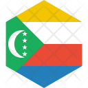 Comoros Flag World Icon