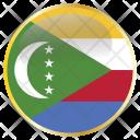 Comoros Comorian Comores Icon