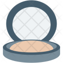 Compact Powder Cosmetics Icon