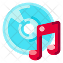 Compact Disk Electronic Icon