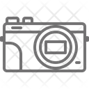 Compact Camera Digital Icon