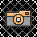 Mirrorless Compact Camera Icon
