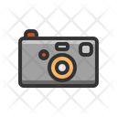 Compact Camera Photography Icon