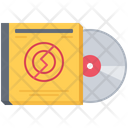 Compact Disk Music Icon