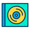 Case Compact Disc Icon