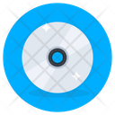 Music Disc Compact Disc Data Storage Icon