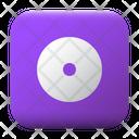 Compact Disc Ui Button Icon
