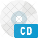 Compact Disk Data Icon