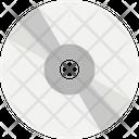 Cd Compact Disk Digital Versatile Disc Icon
