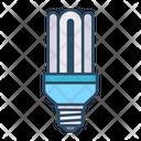 Compact Fluorescent Light Icon