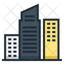 Company Building City Icon