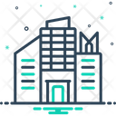 Company Factory Industry Icon