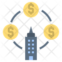 Company Money Business Icon