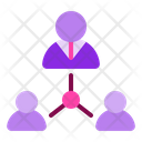 Leader Company Employee Icon