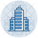 Building Company Skyscraper Icon