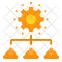 Company Engineer Gear Icon