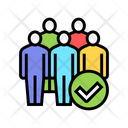 Company Employees Color Icon