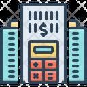 Company Budget Accounting Analysis Icon