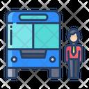 Company Bus Office Bus Service Icon