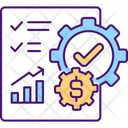 Company Growing Contract Icon