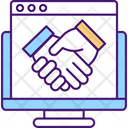 Company Leaders Agreement Icon
