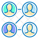 Company Structure User Setting User Management Icon