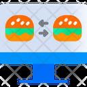 Compare Food Exchange Food Moniter Icon