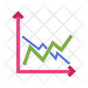 Compare Frequency Graphs Icon