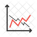 Frequency Graphs Compare Icon