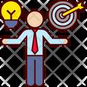 Compare Idea Business Good Icon