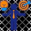 Compare Idea And Target Icon