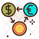 Comparison Coin Exchange Exchange Money Icon
