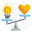 Comparison Balance Seo Icon