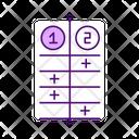 Divide Conquer Method Icon