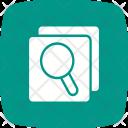 Comparison Search Network Icon