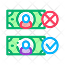 Money Currency Comparisons Icon