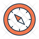 Compas Compass Direction Tool Icon