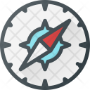 Compas Direction Map Icon