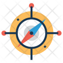 Compass Speed Navigator Icon