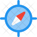 Guidance Compass Direction Icon