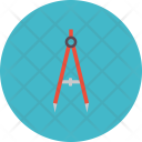 Compass Circle Work Icon