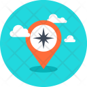 Compass Direction Gps Icon