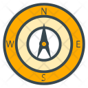 Compass Navigation Direction Icon