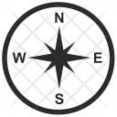Compass Location Boat Icon