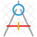 Compass Geometrical Drawing Icon